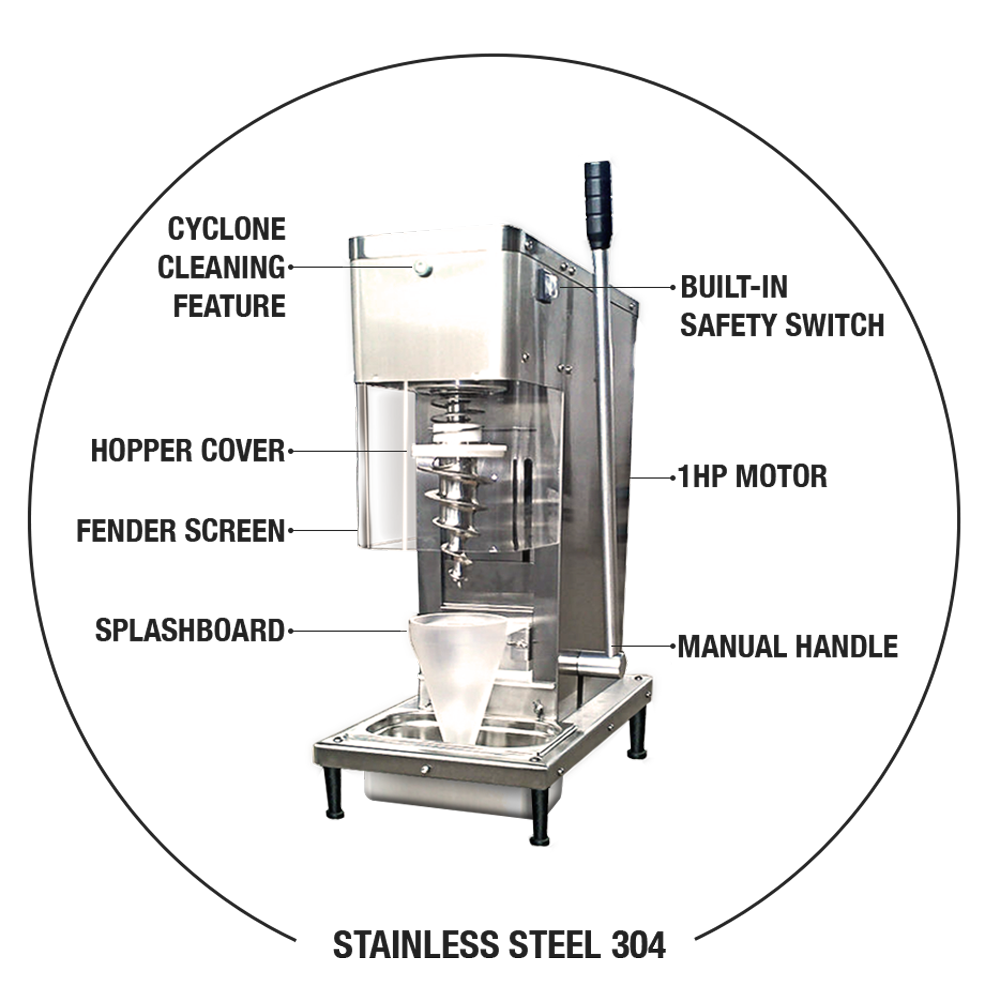 Ice Cream Machine Commercial Diagram Trusted Wiring Diagrams Real Fruit Four Handle